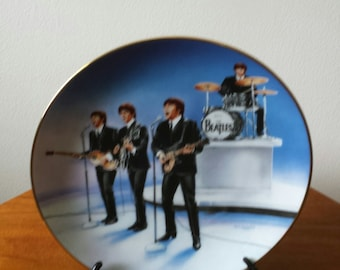 The Beatles In Concert Collectors Plate