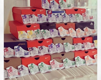 High Top Sneaker Place Cards