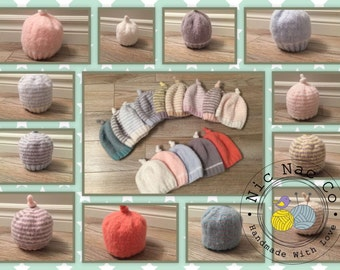Beanies babies emerging, very soft, warm and comfortable, large selection of colors, 0/3 months