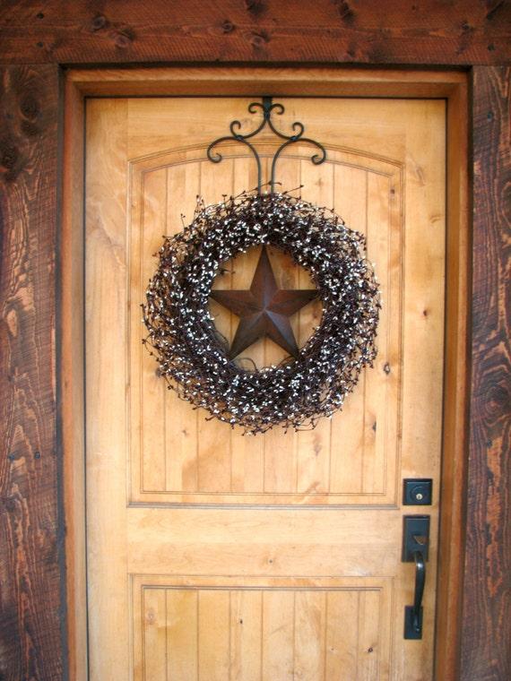 Fall Door Wreath Fall Wreath LARGE Door Wreath Burgundy U0026