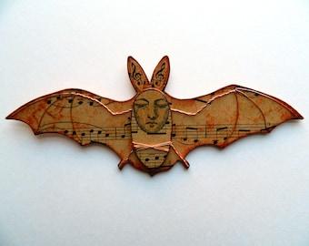 Fledermaus, Wandbehang, Vampir-Fledermaus-Dekor, Kreatur-Wand-Dekor, Vampir-Dekor, Fledermaus Dekor, Halloween-Geschenk, schrulligen Fledermaus Dekor, Halloween-Dekoration