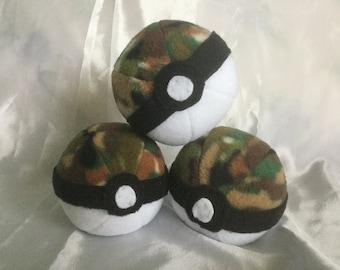 Pokemon Inspired Plush Safariball Toy