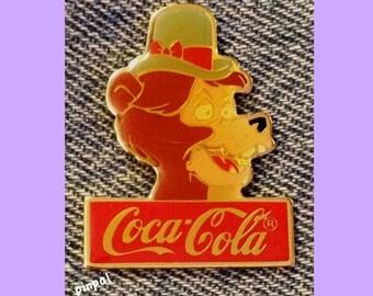 Disney Pin ~ Ernest ~ Country Bear Jamboree ~ 15th anniversary ~ WDW ~ 1986 ~ Coca Cola ~ Coke