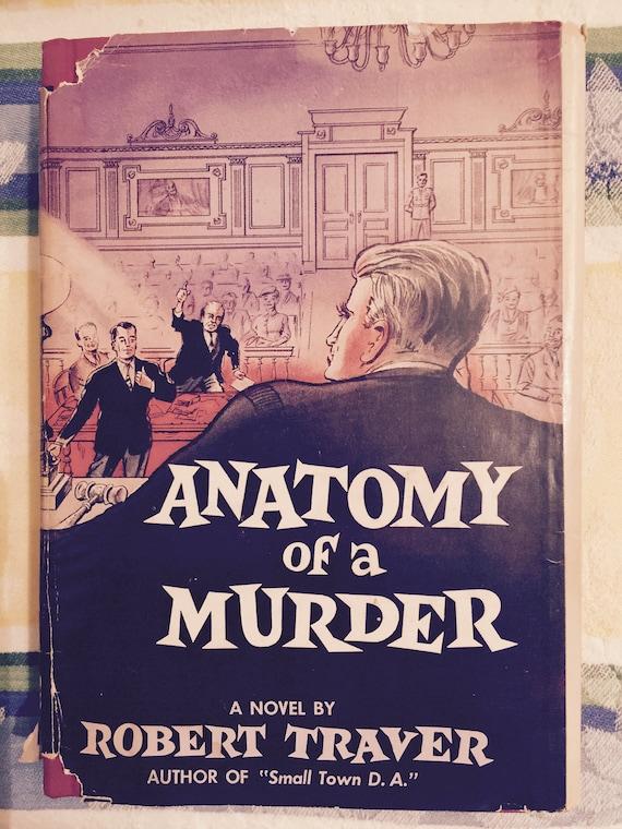 Vintage libro Anatomía de un asesinato por Robert Traver 1958