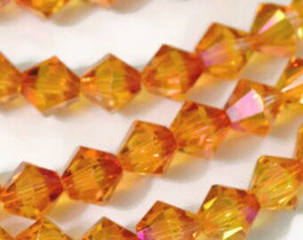 Swarovski Crystal Bicones 6mm  Astral Pink  Article 5301