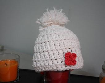 Baby Hat Cotton Crochet