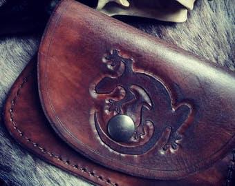Leather Wallet Salamander
