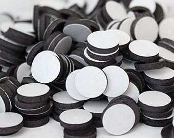 3/4 Inch Round Self Adhesive Magnets, DIY Magnets, Self Adhesive Craft Magnets.