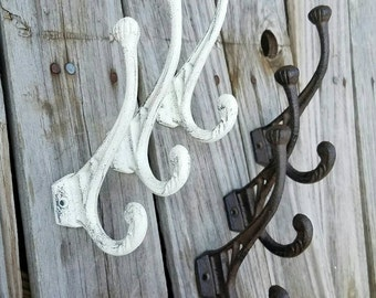 towel hooks. Wall Hook, Coat Towel Cast Iron Entry Hooks T