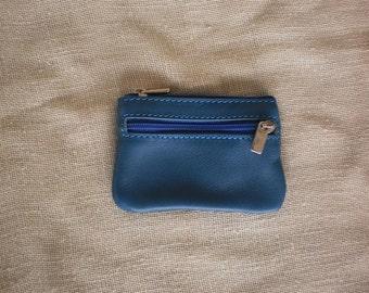 Purse-Leather Keychain