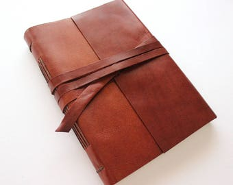 Brown A5 Leather Journal