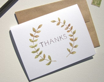 THANKFUL Note Card