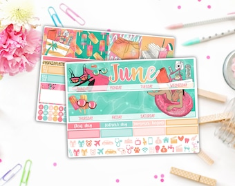 June Summer Monthly Kit