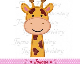 Instant Download Giraffe Applique Embroidery Design NO:1758