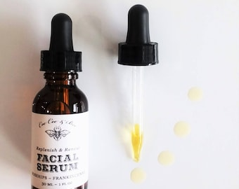 Renew & Replenish Facial Serum | Rosehip | Frankincense