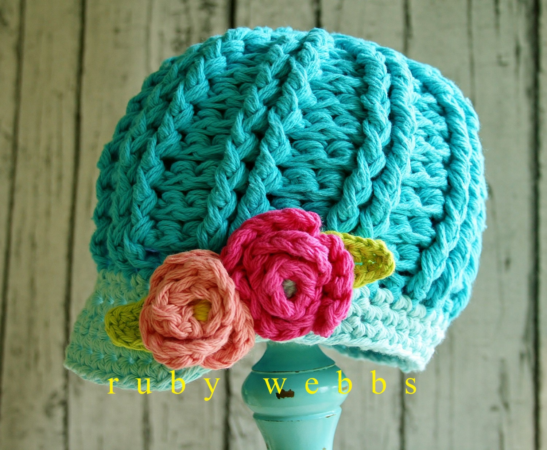 Crochet Newsboy Hat Pattern Newsboy Hat Crochet Pattern 3