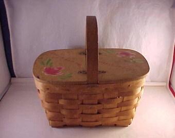 Small Picnic Basket Storage Basket