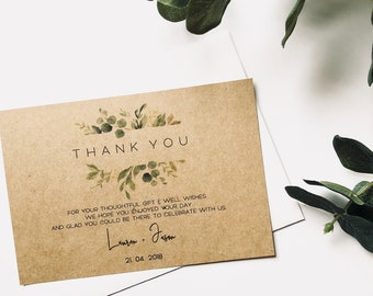 G R E E N E R Y | Thank You Cards