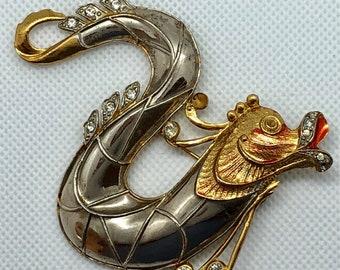Vintage Sea Creature Pin