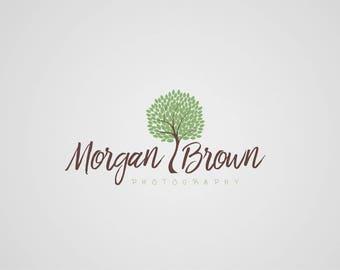 Tree photography logo watermark design custom photographer logos