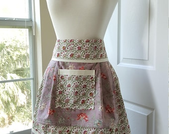 Floral Country Apron