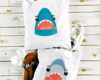 Personalized Kids Summer Totes