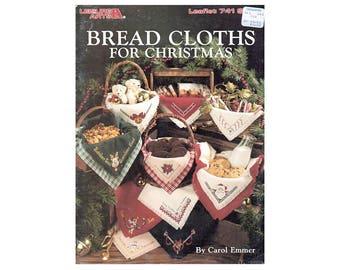 Bread Cloths for Christmas Cross Stitch, Cross Stitch Pamphlet, Christmas Cross Stitch Pattern, Bread Cloths, by NewYorkTreasures Etsy