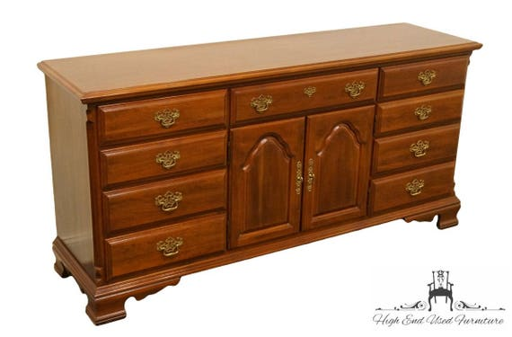 SUMTER CABINET Co. Solid Cherry Chippendale Style 70