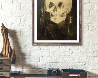 poster skull, sherlock, poster sherlock holmes, sherlock poster, skull prints, sherlock the abominable bride, skulls, optical art, bride.