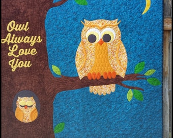 Owl Always Love You Quilt Pattern