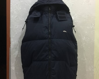Sleeveless quicksilver hoodie jacket