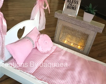 Doll Pillows for 18 inch Doll, 14 inch doll, Doll furniture