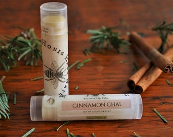 Cinnamon Chai Lip Balm | All Natural Beeswax Lip Balm