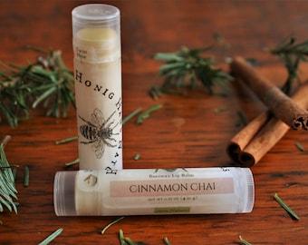 Cinnamon Chai Lip Balm | All Natural Beeswax Lip Balm