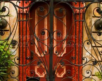 Charleston Red Door