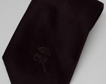Countess Mara for Wolf Bros. Solid Satin Necktie