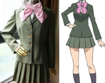 Silver Spoon Cosplay, Aki Mikage School Uniform Costume Set