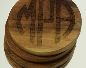 Monogram Coasters (Set of Four)
