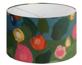 """Floral Lamp Shades """"Summer Meadow"""" Limited Edition Print - 40 cm"""