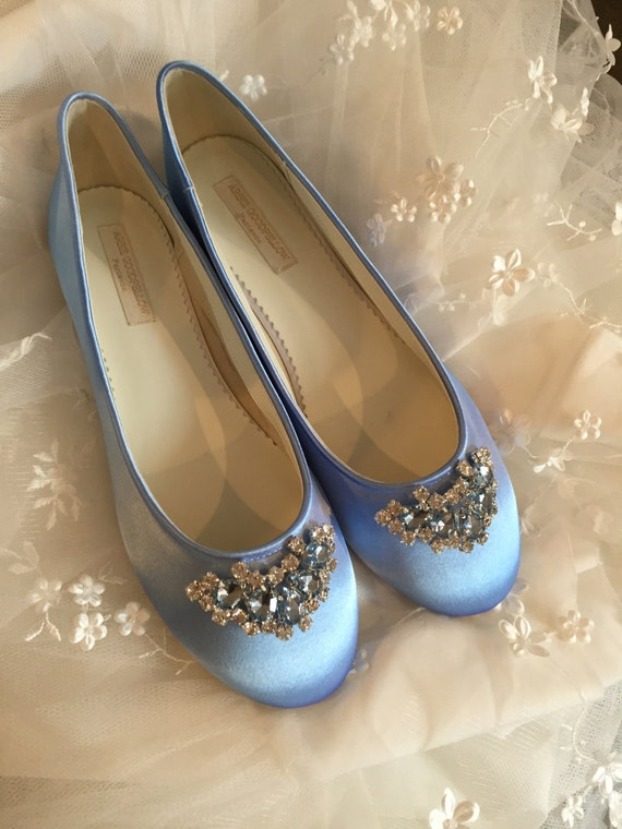 Cinderella Shoes Shoes Wedding Shoes Blue Wedding