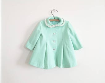 Vintage Mint Toddler Jacket