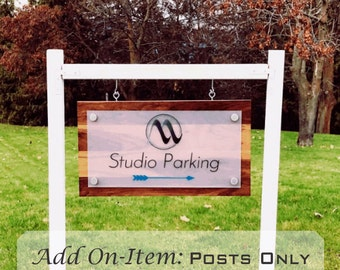 Add on Item: Outdoor Posts (SIGN not INCLUDED)