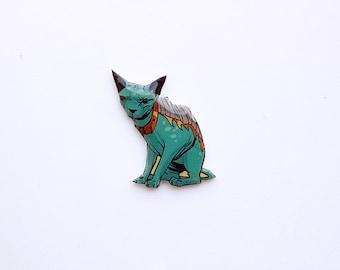 Saga Comic Lying Cat Pin Badge Brooch