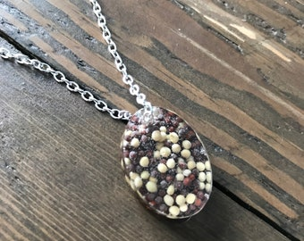 Real Peppercorn Pendant!