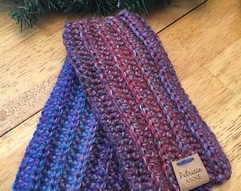 SALE - Fingerless gloves, crochet mitts, crochet fingerless gloves, winter mitts, handmade mitts