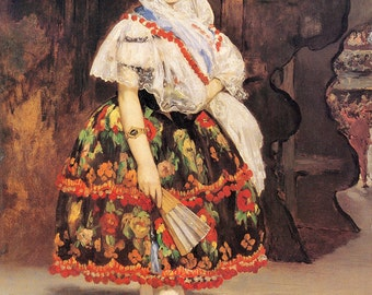 Edouard Manet:  Lola de Valence. Fine Art Print/Poster (00678)