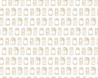 "Sale ~ Riley Blake Designs ""Rustic Elegance"" by Carta Bella | Rustic Jar Tan | By the yard"