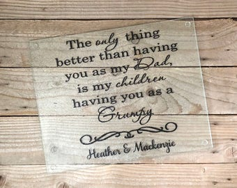 Grandpa Gifts, Grandparent Gifts, Gifts for Grandpa, Gifts for Dad, Grandpa, Dad Gifts, Grandfather, Granddad gift, Cutting board, PawPaw