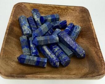 Lapis Lazuli Single Terminated Point - Lapis Point - Lapis Lazuli Point - Throat chakra - Reiki -Energy Healing