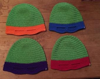 Ninja Turtle Mask Hat
